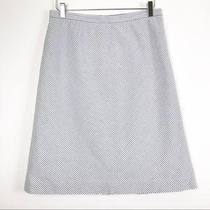 Brooks Brothers 346 Seersucker Skirt
